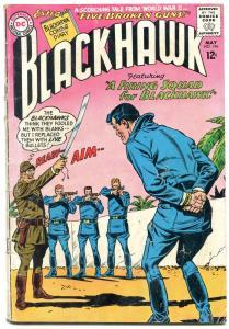 BLACKHAWK #196 1964-DC COMICS-EXECUTION COVER COMBAT G