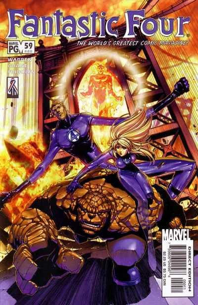 Fantastic Four (1998 series) #59, NM + (Stock photo)