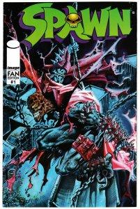 Spawn Fan Edition #1 (Image, 1996) VF