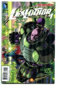 Action Comics-Superman-#23.3-Lex Luthor-#1-3-D Variant-New 52-2nd Print-NM