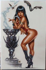 Vampirella 1992 #1 NM Mike Krome Virgin Retailer Incentive Cover 1:15 ratio