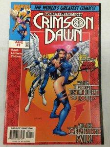 Psylock & Archangel Crimson Dawn #1 Comic Book Marvel 1997