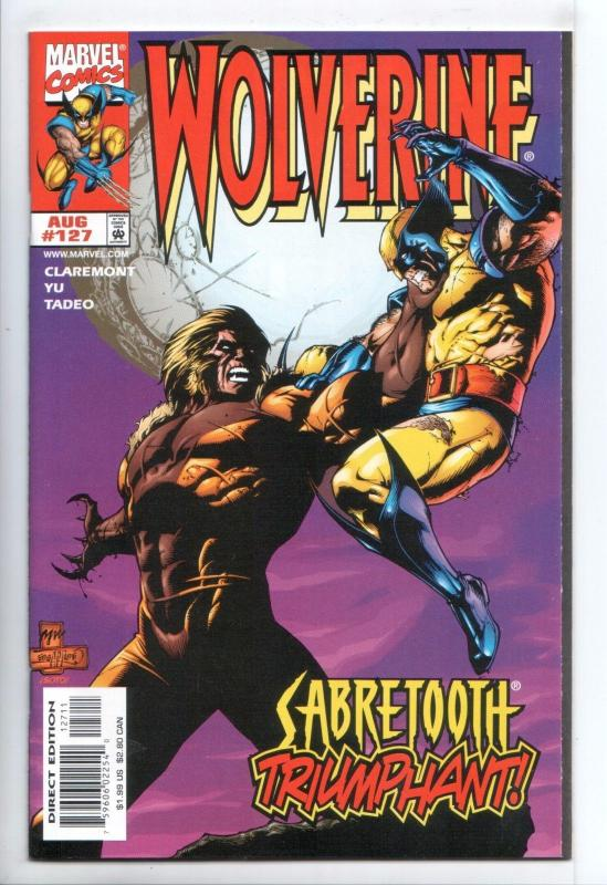 Wolverine #127 - Sabretooth (Marvel, 1998) - NM-