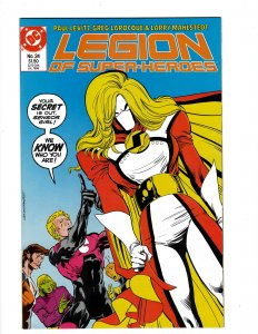 Legion of Super-Heroes #24 (1986) SR7