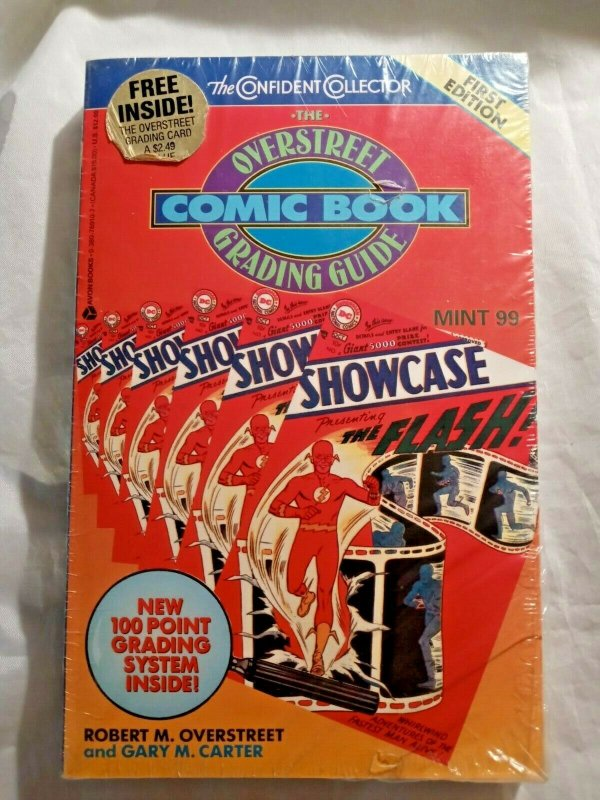 1992 1st Edition Overstreet Comic Book Grading Guide VF NM