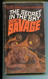 DOC SAVAGE-THE SECRET IN THE SKY-#20-ROBESON-G- JAMES BAMA COVER-1ST EDITION G