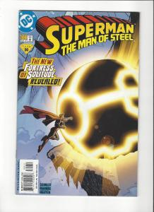 Superman Man of Steel #100(1998) New Fortress of Solitude NM