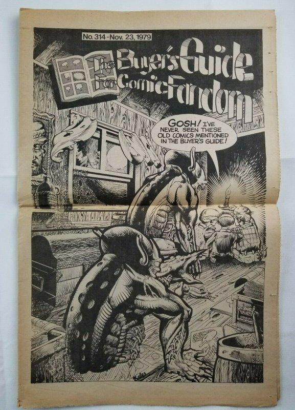 Buyers Guide For Comic Fandom #314 Nov 1979 Alan Light - Steve Kelez Cover - EX