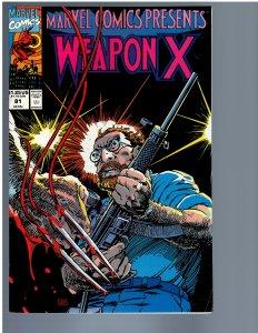 Marvel Comics Presents #81 (1991) VF+