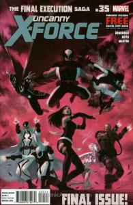 Uncanny X-Force #35 VF/NM; Marvel | save on shipping - details inside