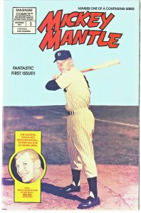 Mickey Mantle #1 and #2 - Magnum Comics