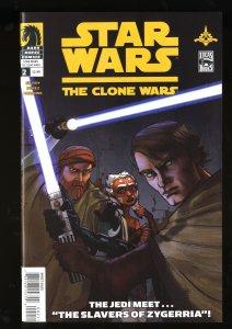 Star Wars: Clone Wars #2 NM 9.4 2nd Ahsoka Tano