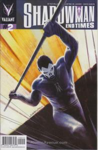 Shadowman: End Times #2 VF/NM; Valiant   save on shipping - details inside