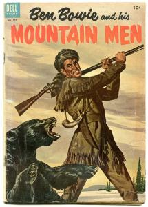 Ben Bowie and his Mountain Men- Four Color Comics #557 1954 G/VG