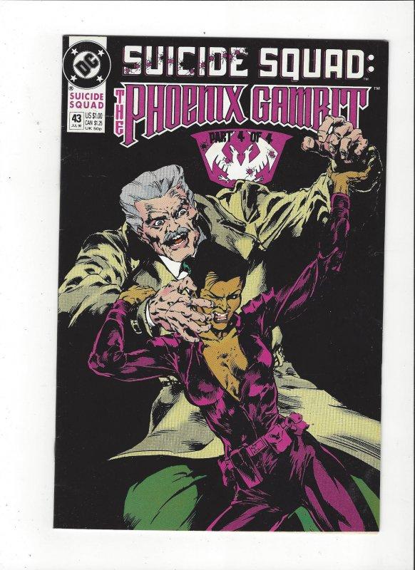 Suicide Squad #43 1989 DC Comics Copper Age  VF