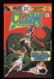Claw the Unconquered #5 VF/NM 9.0