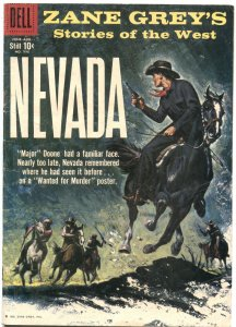 ZANE GREY'S STORIES OF THE WEST-FOUR COLOR COMICS #996-1959---DELL