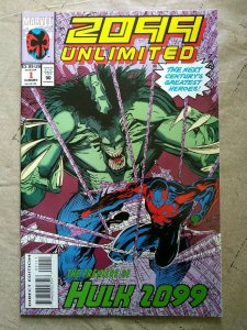 2099 Unlimited #1 (1993)  1st app Hulk 2099 Marvel Comics