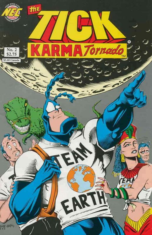 Tick, The: Karma Tornado #2 VF/NM; NEC | save on shipping - details inside