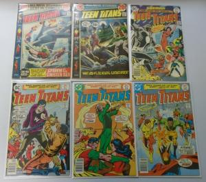 Teen Titans (1st Series) Lot:#40-53, 11 Different, Average 4.0 (1972-1978)