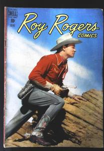 Roy Rogers Comics (1948 series) #18, VG- (Actual scan)