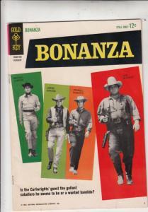 Bonanza #6 (Feb-64) VF High-Grade Lorne Green, Michael Landon, Dan Blocker