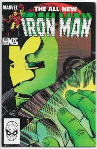 Iron Man   vol. 1  #179 VF O'Neil/McDonnell, Rhodey vs. Radioactive Man