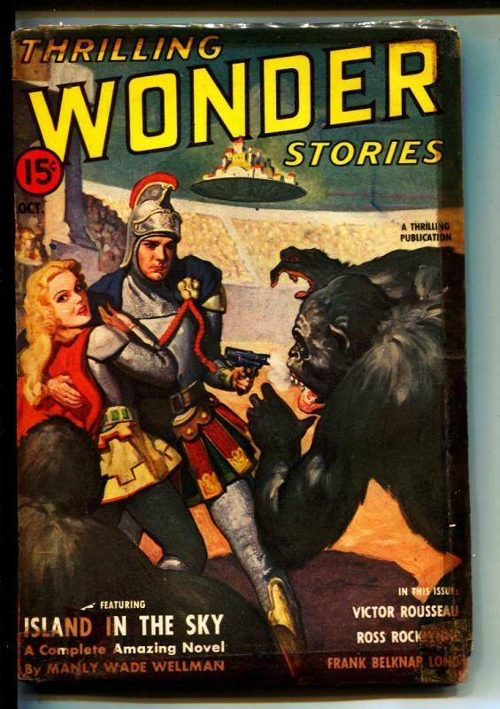 Thrilling Wonder Stories-Pulps-10/1941-Victor Rousseau-Manly Wade Wellman