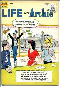 Life With Archie #14 1962-MLJ-Betty-Veronica-Millionaire issue-G/VG
