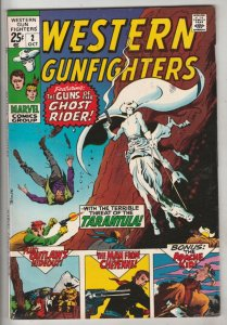 Western Gunfighters #2 (Oct-70) NM- High-Grade Ghost Rider, Wyatt Earp, Black...