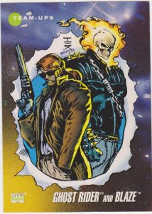 1992 Marvel Universe #79 Ghgost Rider and Blaze