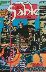 JON SABLE, FREELANCE 25-Different, Mercenary Madness!,