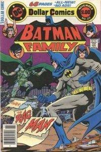 Batman Family (1975 series) #20, Fine+ (Stock photo)
