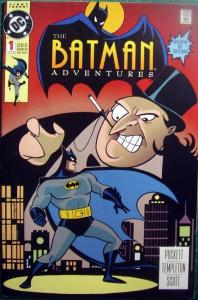 BATMAN ADVENTURES 1 DC October 1992 TEMPLETON first printing