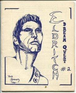 Eldritch Dream Quest #2 1961-Mike Moorcock-JRR Tolkein-rare-FN