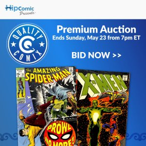 Quality Comix Premium Auction Event #23