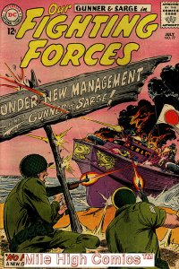 OUR FIGHTING FORCES (1954 Series) #77 Good Comics Book