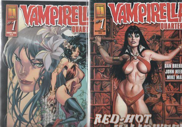 Vampirella Quarterly Set #1 (Apr-98) NM Super-High-Grade Vampirella
