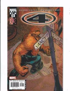 Lot of 4 Fantastic 4 Marvel Comic Books #22 23 24 25 BF2