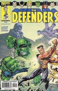 DEFENDERS #2, NM, Hulk, Sub-Mariner, Doctor Strange, 2001, more Marvel in store