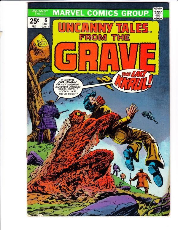 Uncanny Tales #6 (Oct-74) VG/FN Mid-Grade