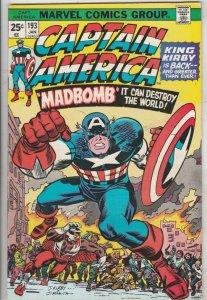 Captain America #193 (Jan-76) NM- High-Grade Captain America