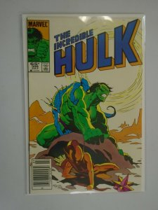 Incredible Hulk #309 Newsstand edition 6.0 FN (1985 1st Series)
