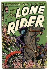 Lone Rider #16 1953- Western Golden Age comic VG