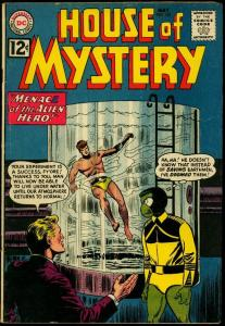 House of Mystery #122 1962- Alien cover- DC Sci-fi comic- FR/G