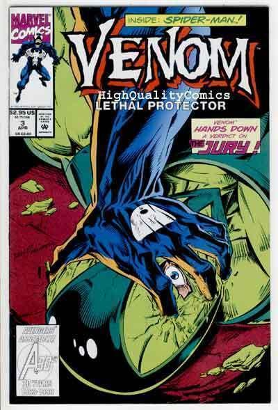 VENOM, LETHAL PROTECTOR #3 Spider-man, Bagley, NM+, more Marvel in store