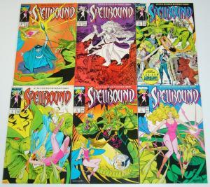 Spellbound #1-6 VF/NM complete series - louise simonson - new mutants set lot