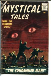 Mystical Tales #4 1956-Atlas-eyeball cover-Reed Crandall-Dick Ayers-Porsche-VG