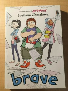 Brave Yen Press Comic Book TPB Graphic Novel Svetlana Chmakova Teenage MFT2