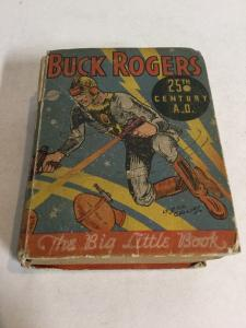 Buck Rogers 25th Century A.D. Vg Very Good 4.0 Big Little Books 742